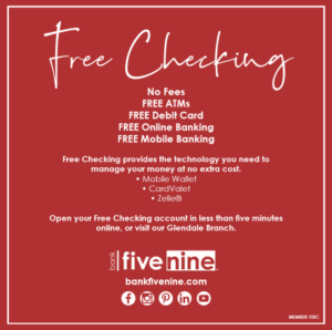 Bank Five Nine Small Business Saturday Offer Image