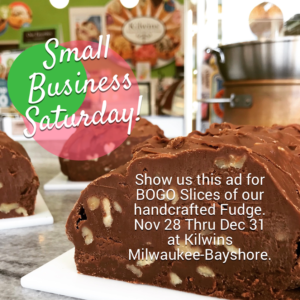 Kilwins Small Business Saturday Offer