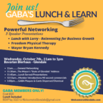 GABA's Lunch and Learn